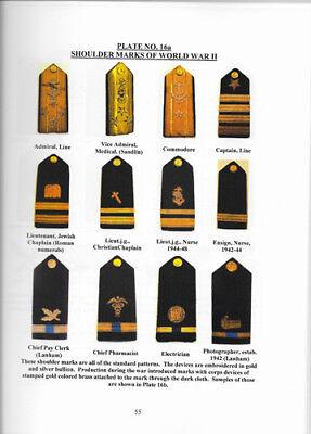 ASMIC United States Navy Shoulder Straps And Shoulder Marks  Book