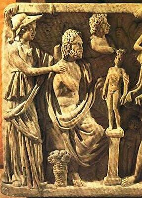 Classical Deities & Heroes Ancient & Medieval Art Myths Gaea Kronos Zeus Urqanus 4