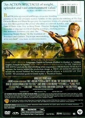 2 DVD Set Troy Iliad Ancient Greece Trojans Myceneans Agamemnon Achilles Hector 2 • CAD $21.58