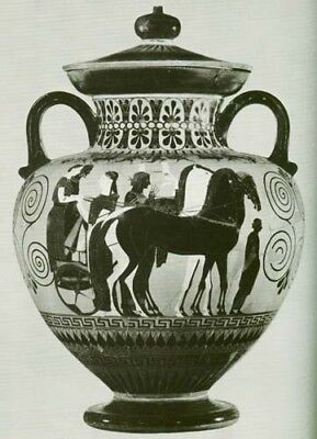 Greek Vase Painting Athens Boeotia Corinth Laconia Black Red Amasis Andokides