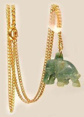 Antique 34½ct Jade Ancient Turk Mongol India Korea China Victory Stone 4 Swords 2