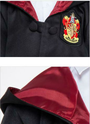 Book Week Harry Potter Adult Gryffindor Ravenclaw Robe Fancy Dress Party Costume 3