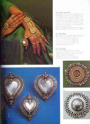 India Traditional Gold Gem Jewelry Ancient Antique Mughal Bengali Vedic 870 Pix 8