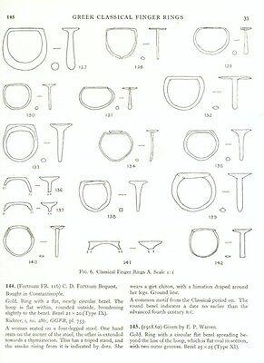 Greek Etruscan Finger Rings Engraved Gemstones Oxford Ashmolean Hellenistic Pix 4