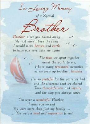 Memorial graveside card Mum Dad Sister remembrance plastic coated waterproof 3
