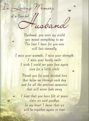 Memorial graveside card Mum Dad Sister remembrance plastic coated waterproof 11