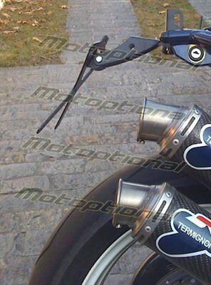 Porta Targa Regolabile Anche A 30° Ducati Monster Telaio Tagliato 5