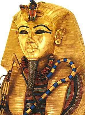 Boy Pharaoh Tutankhamun Tomb Treasure Gold Mask Selket Coffin Cloisonné Jewelry 4
