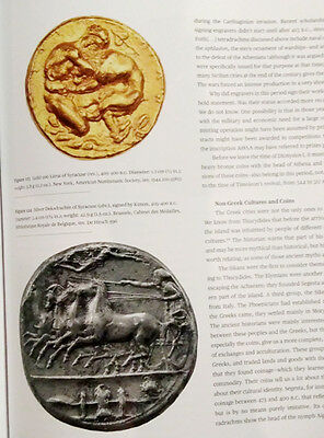 Ancient Art Roman Greek Colony Sicily Gods Agriculture Syracuse Coin Literature 9