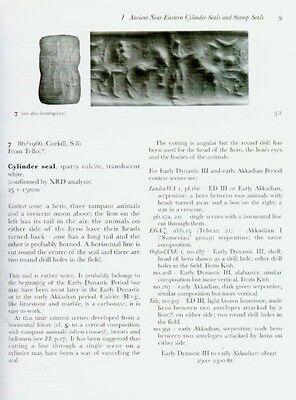 Seals Finger Rings Engraved Gems Amulets Greek Roman Sassanian Bactrian Akkadian 5