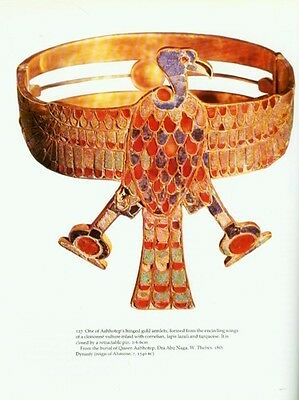Ancient Egyptian Jewelry Makers Materials Techniques Amulets Rings Diadems Color 8 • CAD $221.98