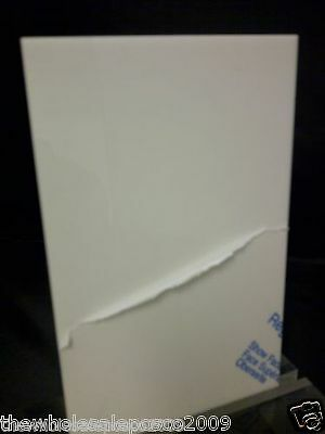 White Acrylic Perspex Sheet Plastic Panel Material A5, A4 & A3 In 2Mm, 3Mm & 5Mm