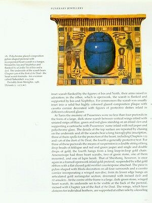 Ancient Egyptian Jewelry Makers Materials Techniques Amulets Rings Diadems Color 3 • CAD $221.98