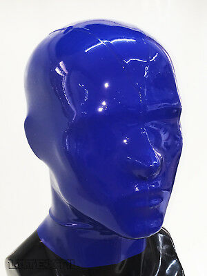 ** LATEXTIL ** Mehrteilig LARGE * Latexmaske Latex Rubber Maske Masque * NEU * 2