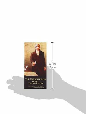 The Constitution of the United States Declaration Independence Paperback Pocket 3