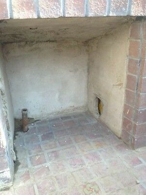 Old Gladding McBean Tile Fireplace GMB Catalina Batchelder Era 5