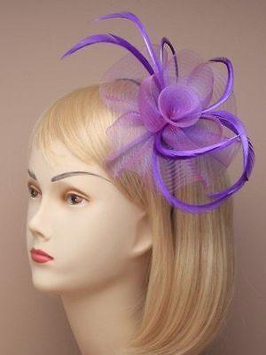 Feather Looped Headband Alice Band Fascinator Ladies Day Wedding Royal Ascot 15 2