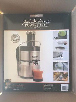 JACK LALANNE'S JLSS Power Juicer Deluxe Stainless Steel