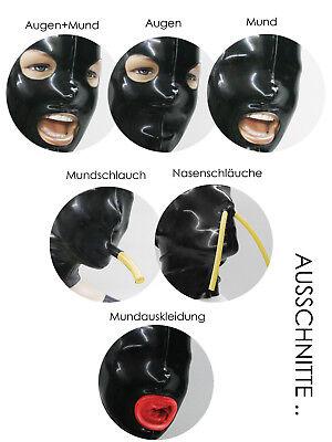 ** LATEXTIL ** Mehrteilig XL * Latexmaske Latex Rubber Maske Masque * NEU *