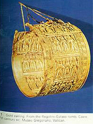 Greek Roman Hellenic Etruscan Gold Jewelry 68 Color Pix Trade Production Wearing 4 • CAD $42.83