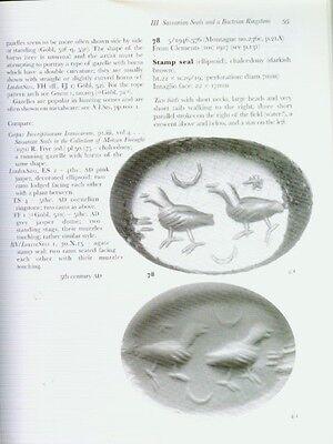 Seals Finger Rings Engraved Gems Amulets Greek Roman Sassanian Bactrian Akkadian 4