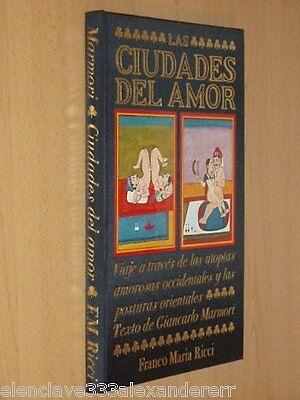 CIUDADES DEL AMOR Libro FRANCO MARIA RICCI Milan 1989 Edicion Coleccionista 3