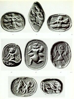 Engraved Ancient Archaic Greek Etruscan Phoenician Gems 6th-5th Century BC Pix 6