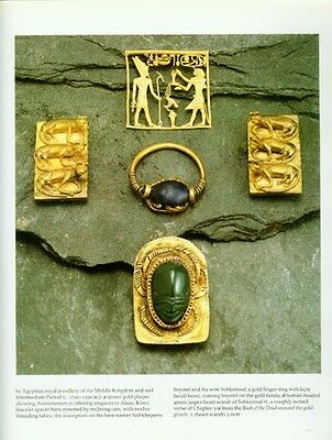 Ancient Egyptian Jewelry Makers Materials Techniques Amulets Rings Diadems Color 6 • CAD $221.98