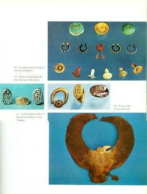 Jewels of the Pharaohs Ancient Egypt Dynastic Jewelry XL Color Pix Amulets Rings 2