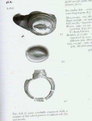 Seals Finger Rings Engraved Gems Amulets Greek Roman Sassanian Bactrian Akkadian 7