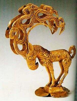 NEW British Museum Gilded Dragons Ancient China Han Tang Buried Treasure 200 Pix 4