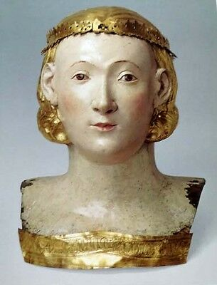 HUGE Medieval Sculpture Roman Renaissance Biblical Gothic Italy France Reliquary 5