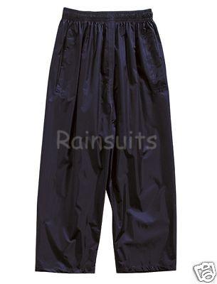 Regatta Stormbreak Kids Fully Waterproof Trousers Boys Girls Childs Overtrousers 2