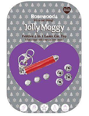 Jolly Moggy Festive 5 in 1 Laser Cat Toy RWW38882 2