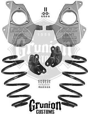 Chevy Gmc Suv W Factory Rear Air Shocks 23 Lowering Kit Mcgaughys