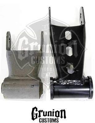 "Street Edge 88-00 Silverado//Sierra 3500 2/"" Rear Lowering Drop Shackles Set"
