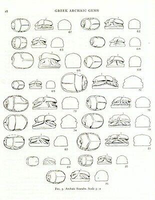 Greek Etruscan Finger Rings Engraved Gemstones Oxford Ashmolean Hellenistic Pix 3