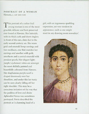 Hellenic Roman Egyptians Real Portraits Show Clothing Jewelry Hair Styles 200AD 9