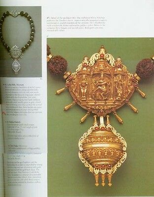 India Traditional Gold Gem Jewelry Ancient Antique Mughal Bengali Vedic 870 Pix 4