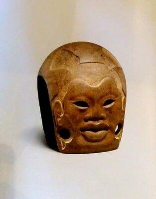 HUGE Olmec Monuments Sculpture Jade Ancient Mexico 1400-400BC Jewelry Masks Art 8