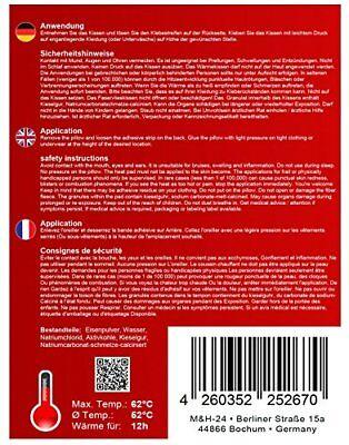 Wärmepflaster Wärmepads Waermepflaster Wärmekissen Wärmepad Rücken Pflaster 12h 3