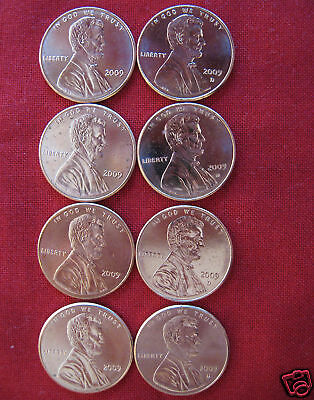 2009 Lincoln Cents Complete Bicentennial 8 Uncirculated Penny Coin Set whotoldya 3