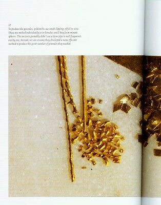 Etruscan Granulation Ancient Gold Jewelry Roman Italy Fibulae Daggers Earrings 7