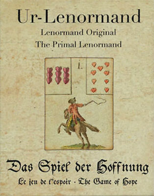 Primal Lenormand – The Game Of Hope Oracle Cards Deck Telling Astrology Agm New 2
