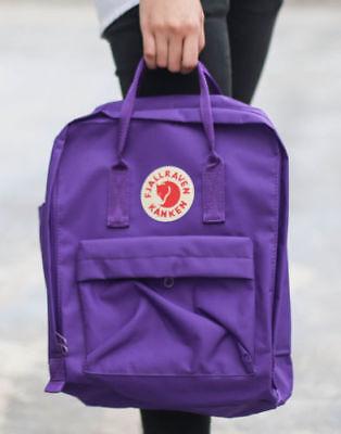 7L / 16L / 20L unisex Fjallraven Kanken Mochila viaje spalla scuola borse Marca