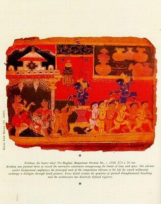 Indian Miniature Painting Color Rajasthani Mughal Deccani Pahari Manuscripts Pix 4