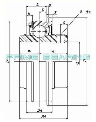 DA4 NEW TR Bearing SER208-24 Bearing Insert