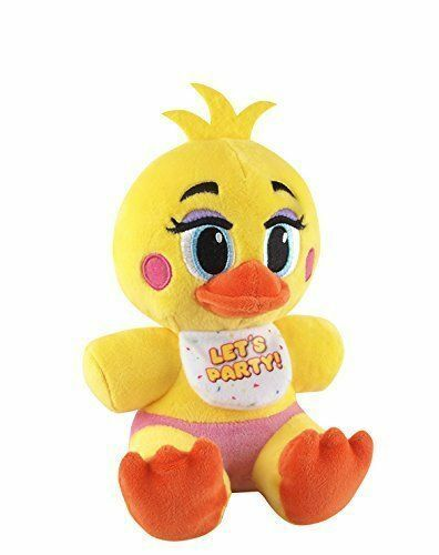 """FUNKO Five Nights At Freddy's TOY CHICA PLUSH 6""""  AUTHENTIC RARE NEW"""