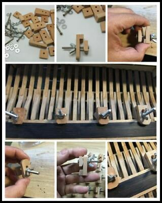 10Set/box Hull planking pear wood clamps for Boats Model Ship PLANKING clamp New 6