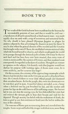 Ancient Rome Civil War Lucan Pharsalia Julius Caesar Pompey RARE OOP 1957 H/C 6